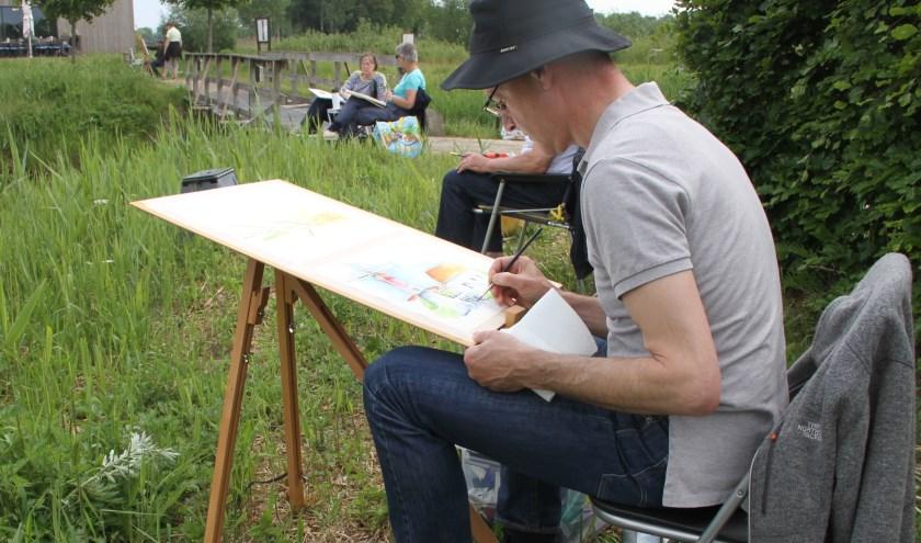 Marcel Lemmens vindt zichzelf in de vrije natuur; Foto: Josephine Peren.