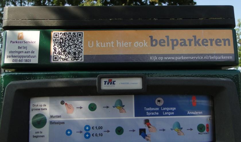 Op diverse plekken in het centrum van Barneveld kun je belparkeren.