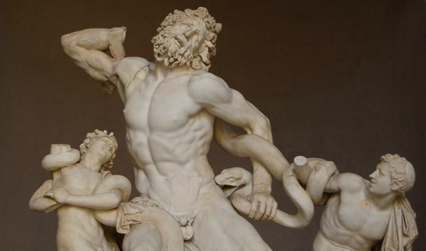 De haat van de goden doodde Laocoon en zijn zoontjes tijdens de Trojaanse Oorlog. Foto: Ward Warmoeskerken.