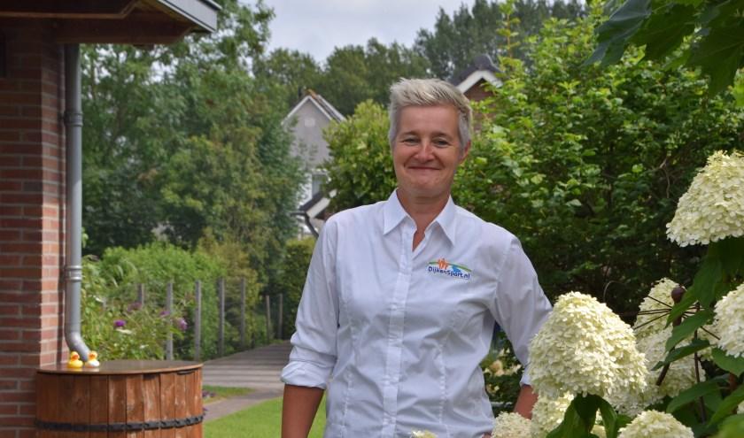 Monique Mulders is 10 jaar nauw betrokken bij DijkenSport.nl.  (Foto Hanneke Hoefnagel)
