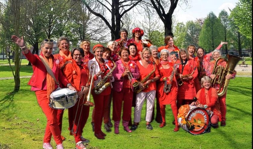 De Band zonder Vent bestaat 25 jaar en viert dit met een optreden op zondag.