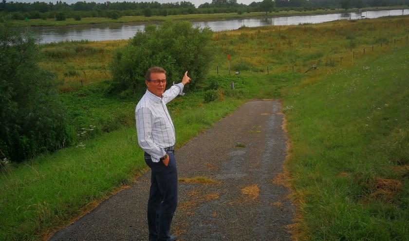 Hans van Ark wil zich inzetten voor een betere samenwerking tussen Gelderland en Overijssel.