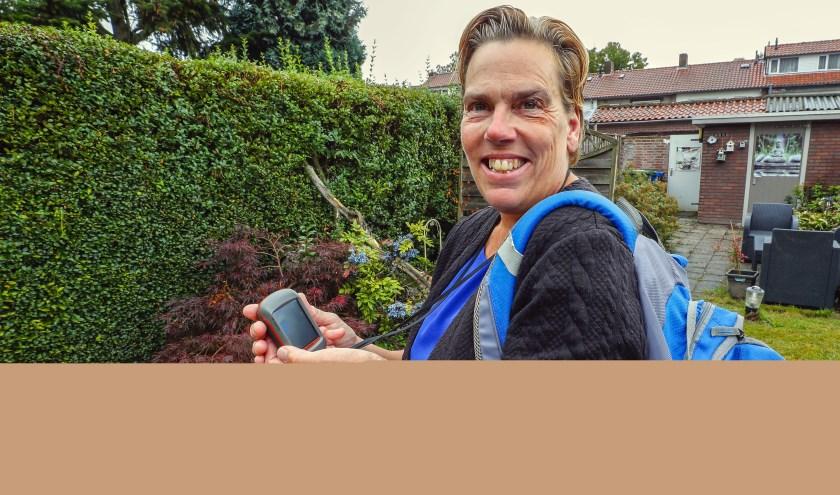 """""""Bij Geocaching loop je door middel van opdrachten naar de 'schat', de cache."""" FOTO: Bert Jansen."""