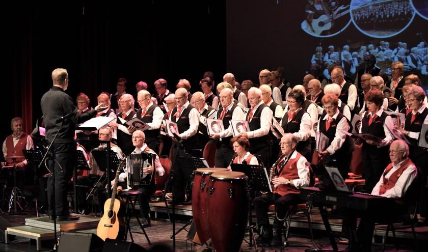 Shantykoor De Klotvaarders concerteert zaterdag 31 augustus op de Markt in Deurne.