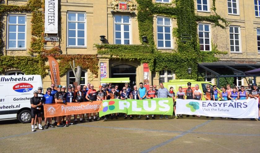 De tocht werd mede mogelijk gemaakt door sponsoren Easyfairs Evenementenhal Gorinchem, PLUS Elbert van den Doel en Allwheels. Eigen foto