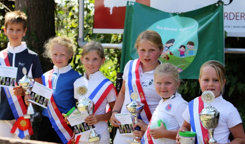 Bixie kampioenen 2018 Foto: Ilona Hendriks