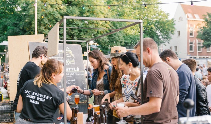 Speciale biertjes proeven. (Foto: Bierfestival Hop)