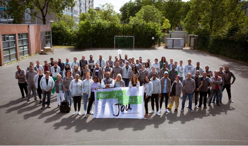 Het team van JoU Jongerenwerk is blij met de resultaten van het effectonderzoek.