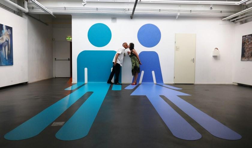 Publiek wordt uitgenodigd het voorbeeld van Petra en Fred na te volgen. (Foto: SAGE)