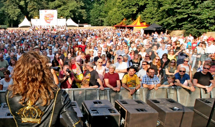 Een indruk van Happy Sunday Fest, dat zondag 18 augustus te doen is in het Philips de Jonghpark. Deze foto is gemaakt tijdens de editie van 2018.
