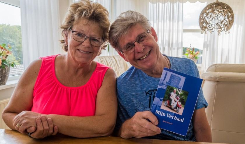 Adrie en Tonnie Standers, beide vrijwilligers van betekenis in Bergen op Zoom. foto:Marjan Stolk