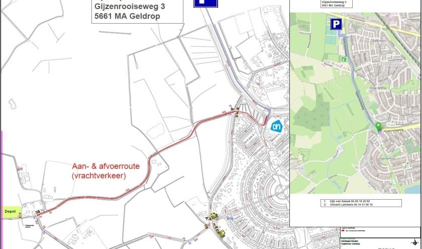 Uit inspectie is gebleken dat een deel van het riool tussen Leenderheide – Rielsedijk in Eindhoven niet meer in orde is.