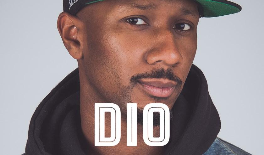Rapper Dio, bekend van de hit 'Tijdmachine', staat op zaterdag 14 september op PopMonument Junior in Markiezenhof.