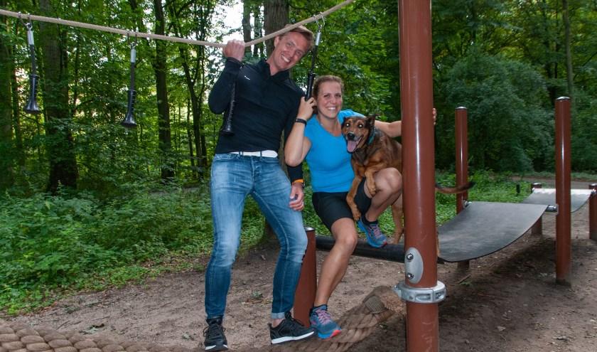 Fred van Hooydonk en Ingrid Nagy uit Den Haag willen op sportieve wijze aandacht vragen voor jonge weduwen.