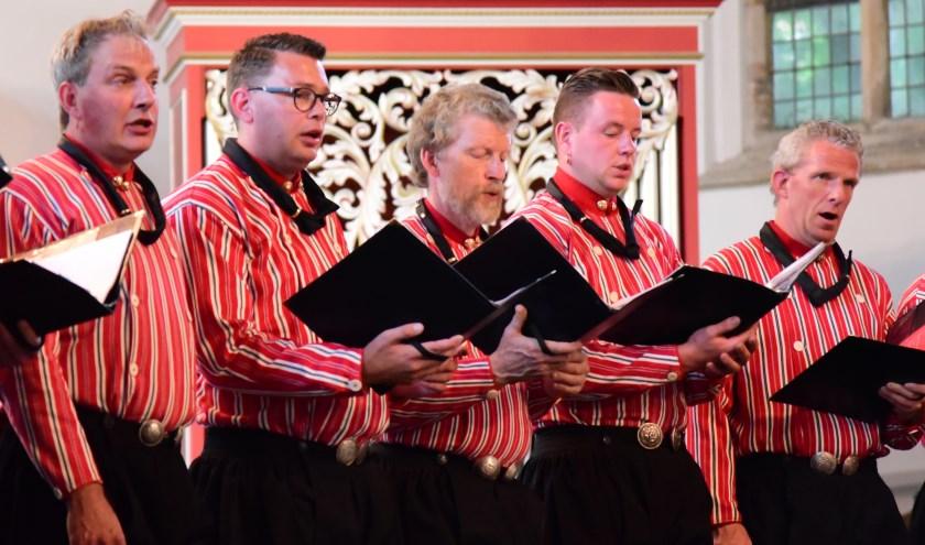De Urker Mans Formatie geeft vrijdagavond een concert in Ommen.