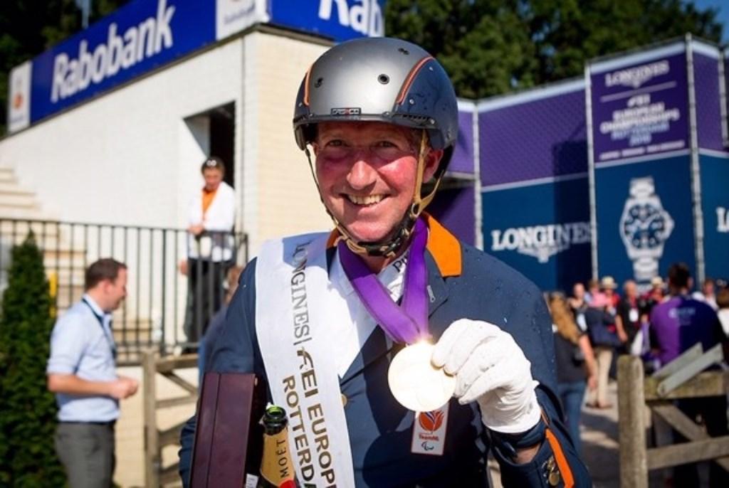 Frank Hosmar won drie keer Europees goud. Foto: Sharon Vandeput © DPG Media