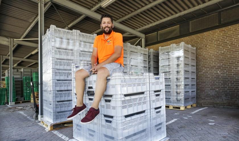 Jasper van Veldhoven: 'Met z'n allen hebben we gespaard voor nieuwe kisten. (Foto: Jurgen van Hoof).