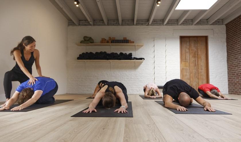 Yogastudio Aalst Waalre houdt zondag 1 september Open Dag. Foto: Tim Witte.