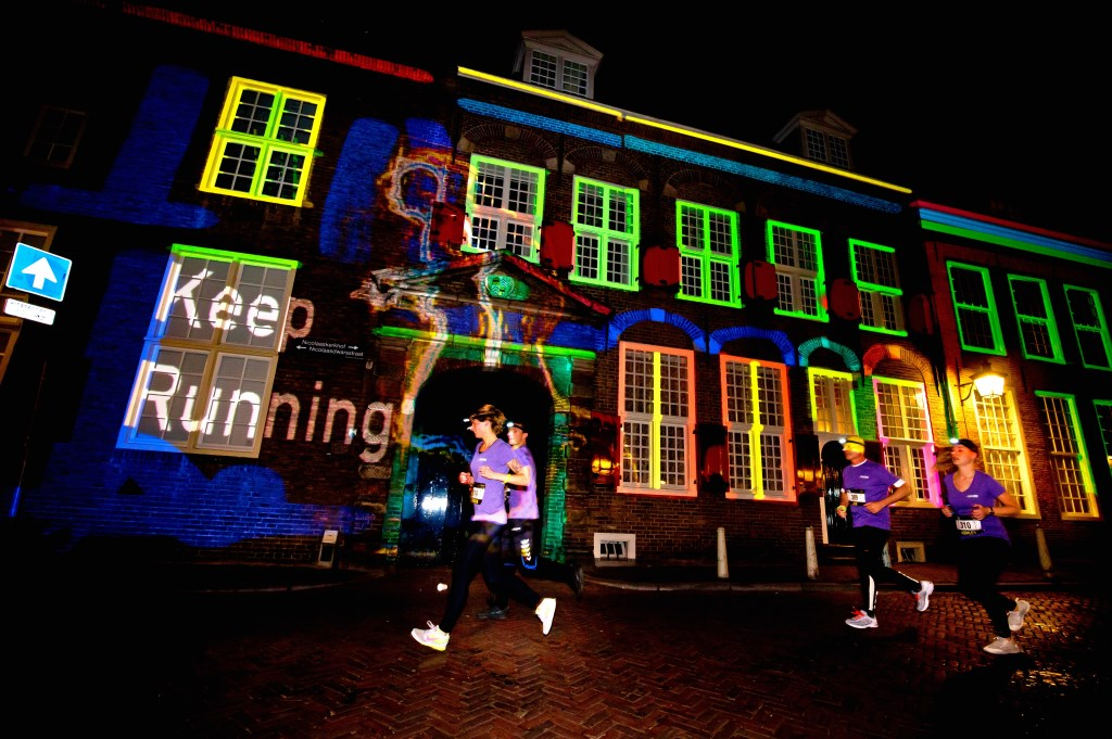 Nedal Utrecht Night Run. Foto Bart Hoogveld Foto: Bart Hoogveld © DPG Media