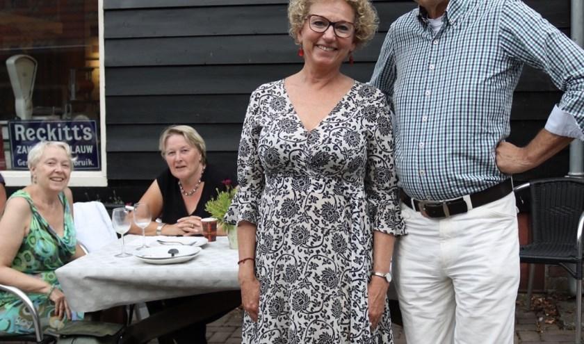 Marijke Zoetelief is de drijvende kracht achter het Diner Swim To Fight Cancer: genieten voor het goede doel.
