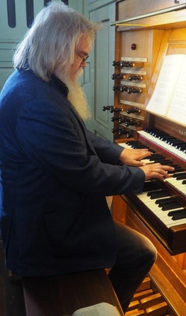 Organist Teun van de Steeg