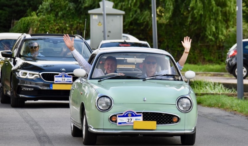 De Rotary Rally puzzelrit kan worden gereden met een 'gewone' auto in de Tourklasse of met een 'classic car' in de Vintageklasse.