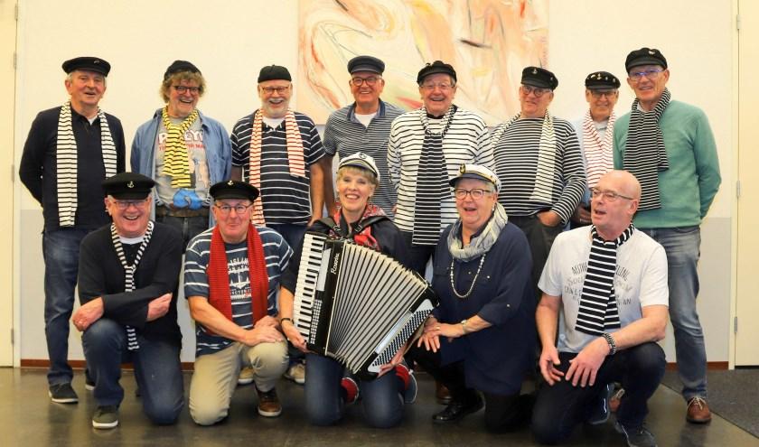 Zeemanskoor Deining presenteert op zondag 1 september voor de zesde keer het Irish Folk & Shanty Festival in Heusden. Foto: Bert Mouthaan
