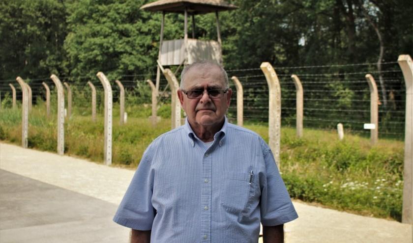 George, die nu de achternaam Mueller draagt, was in 2018 terug in Vught om de 75-jarige herdenking van de kindertransporten bij te wonen.