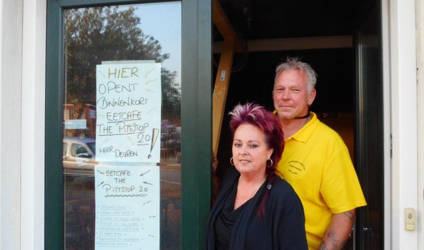 Yvette en Jan Holties willen met The Pittstop 2.0 weer een thuis zijn voor de truckers. (Foto: Bart van der Linden)