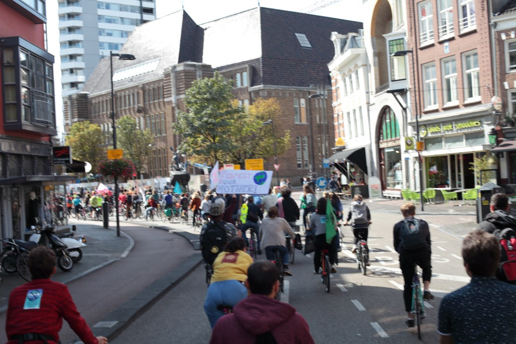Foto: Extinction Rebellion Nederland  © DPG Media