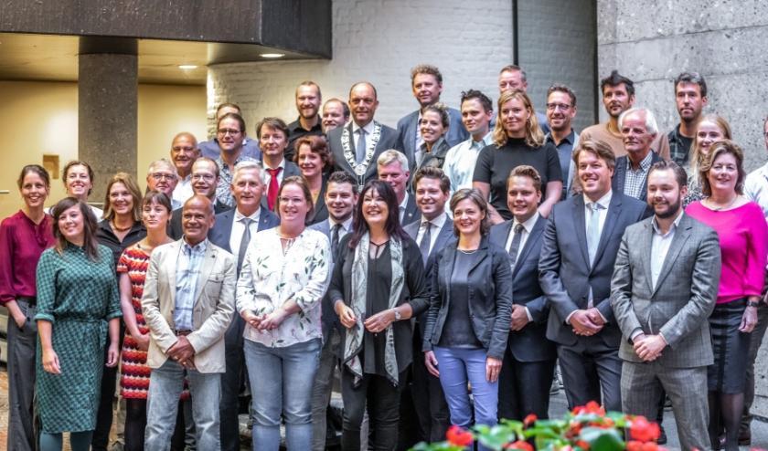 De gemeenteraad van Zwolle.