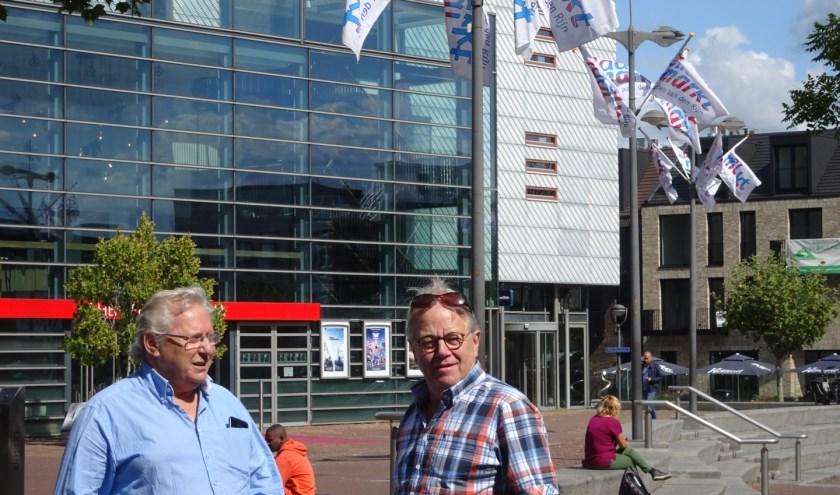 Hans van Beek en Martin Hijdra van Stichting Jaarmarkt: 'We proberen steeds weer iets nieuws aan te bieden'