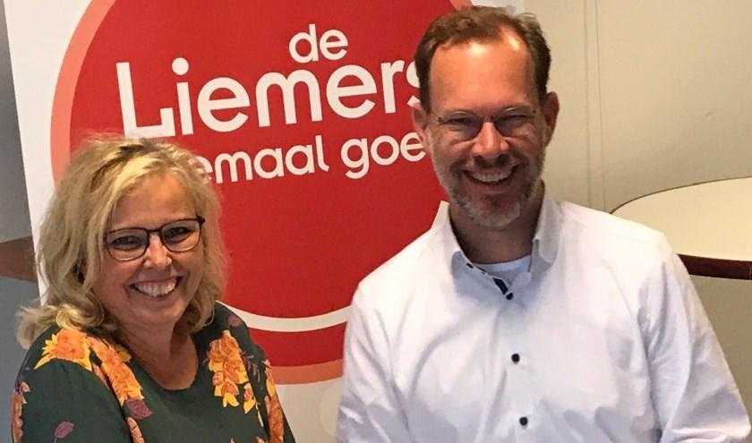 Anja van Norel en Bert Frölich zijn allebei verheugd dat de samenwerking tussen Landgoed Huis Sevenaer en Kunstwerk! verder wordt uitgebreid. (foto: PR)