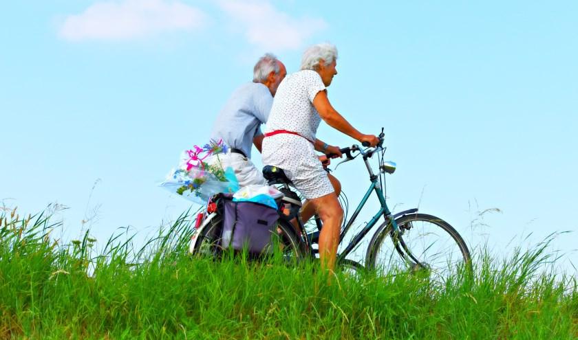 """""""Bewegen kan de kwaliteit van leven van mensen met dementie vergroten'', zegt Gerjoke Wilmink, directeur van Alzheimer Nederland."""