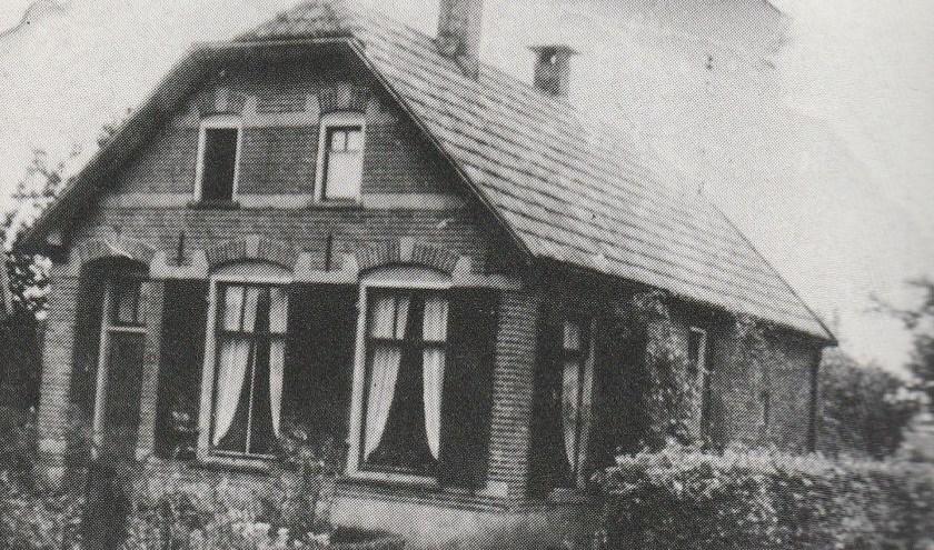 In deze inmiddels verdwenen woning aan de Stationswweg zat Snatager ondergedoken.