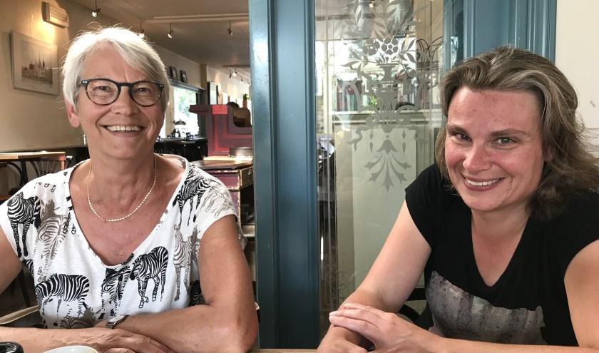 Alie Hovius (l.) en Inge Weijts