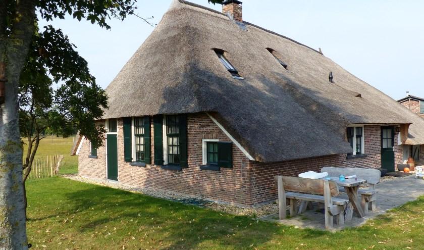 De genomineerde woonboerderij van de familie Lusseveld maakt kans op de Ons Erfgoedprijs 2019.