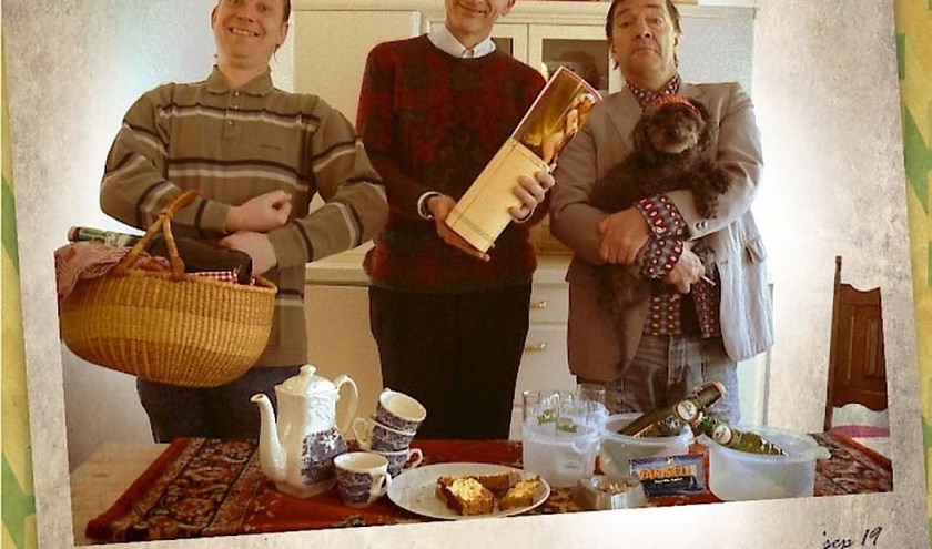 Kemperink, Beuving en Manuel houden een 'Tukkerwareparty' in Kulturhus Denekamp donderdag. Twents cabaret!