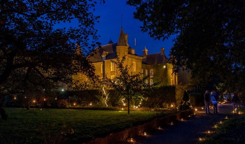 Slot Zuylen in Oud-Zuilen houdt op zaterdag 21 september de Lichtjesavond. Foto: Slot Zuylen