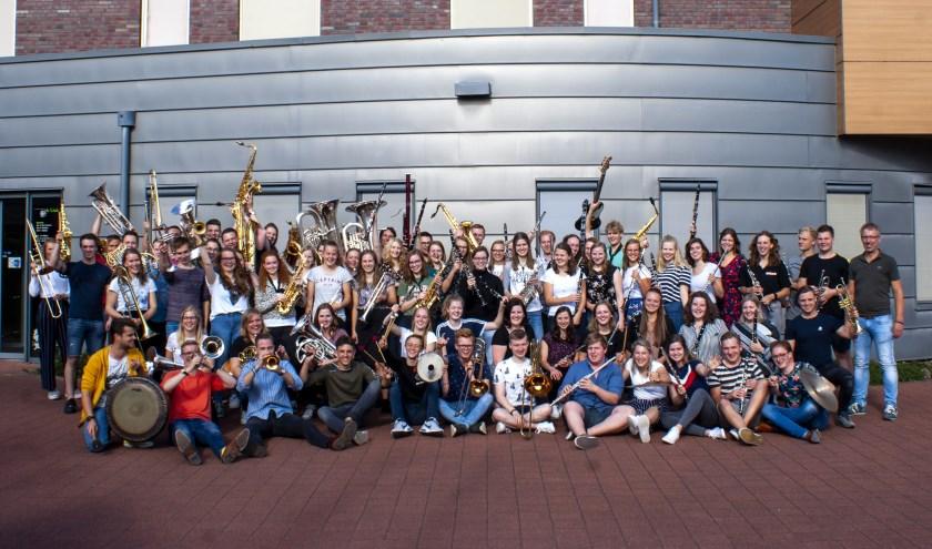 De enthousiaste deelnemers van de dertiende editie van het OGJO