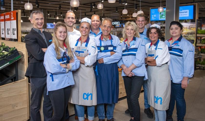 Team van Albert Heijn Druten (Foto: Albert Heijn/Dirk Brand)