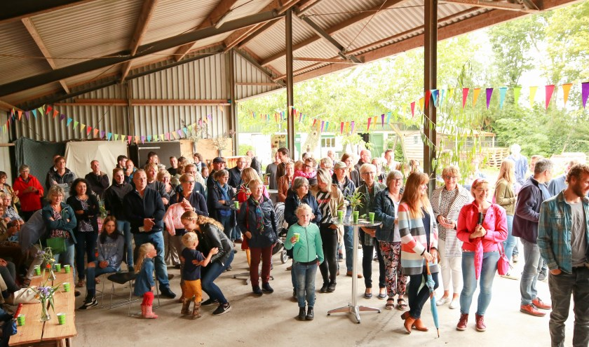 Er was veel belangstelling voor de opening. (Foto: Privé)