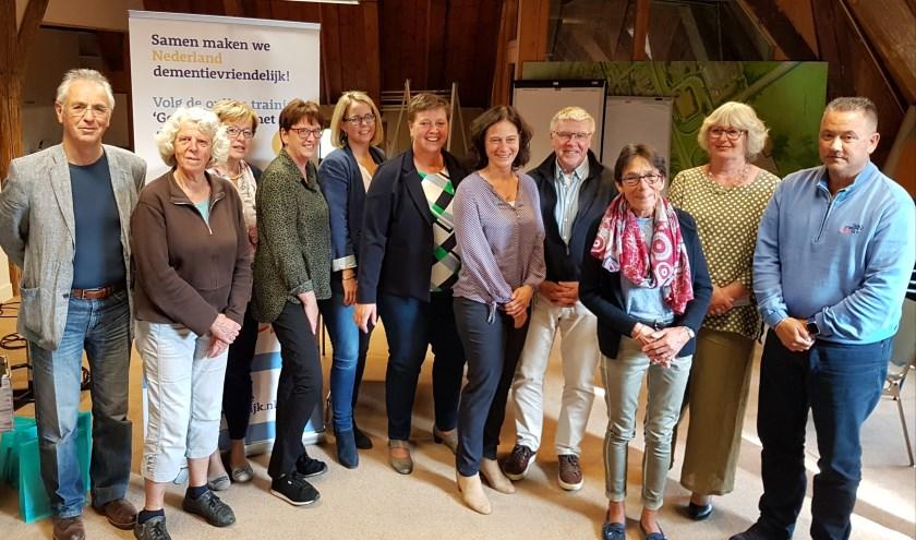 De ondertekenaars van de intentieverklaring. Foto: gemeente Stichtse Vecht