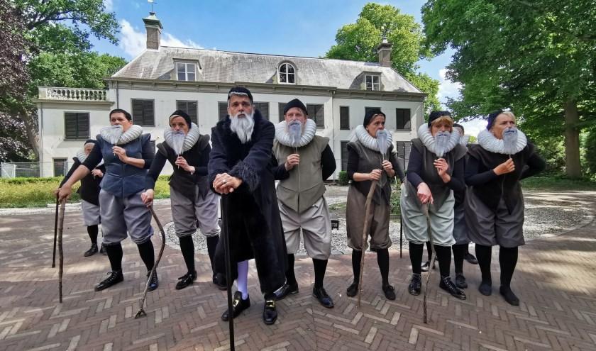 Buitenspel over Johan van Oldenbarnevelt. Foto: Theatergroep Maarssen '32