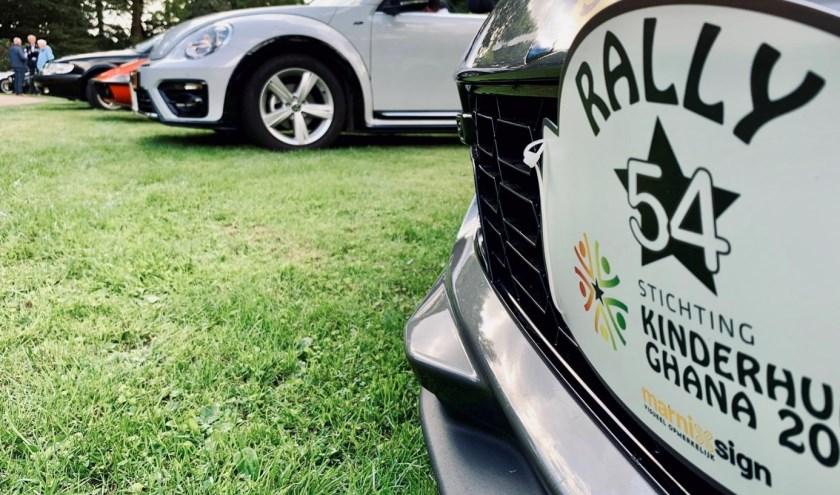 In totaal 60 coureurs reden een rally, uitgezet rond Rijssen, speciaal voor Stichting Kinderhulp Ghana, een stichting die zich inzet voor kansarme kinderen in Nsoatre.