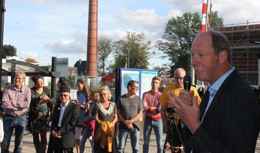 """Wethouder Ted Kok: """"StationsHuis Fatta is een parel voor Aalten""""."""