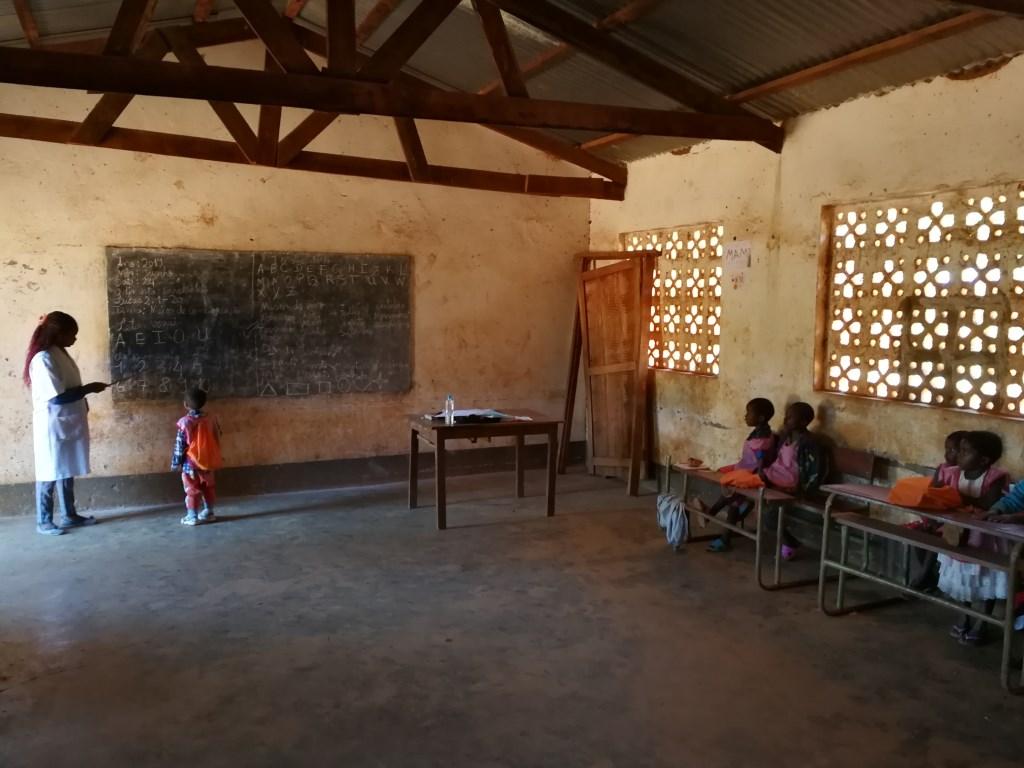 Kleuterschool in opleiding.  © DPG Media
