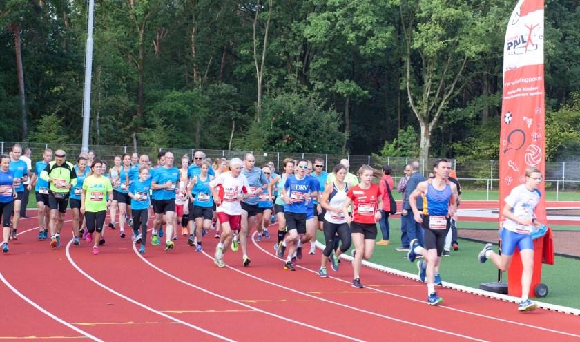 Zondag is op sportpark Vierhoeven de zesde Quikrun georganiseerd door de Stichting Paul.