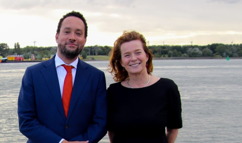 Chris Oerlemans en Esther van der Velden gaan via Riverboard samenwerking zoeken tussen diverse partijen. Foto: Wendy Hofman