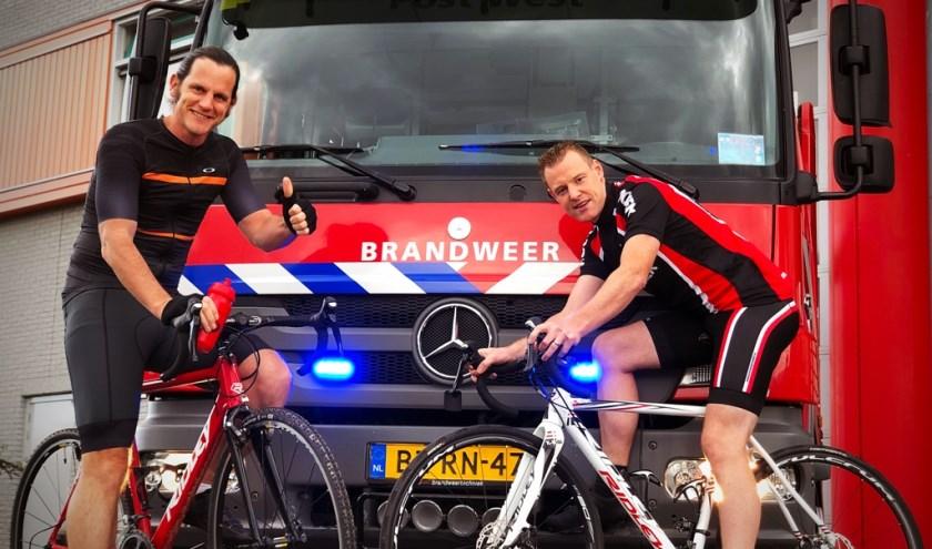 Riny van Malsen en Kevin Theunissen doen samen mee aan de Coast to Coast Run in Schotland.